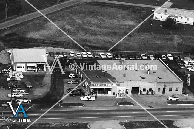 Vintage Aerial Vermont Addison County 1967 29 Rad 36
